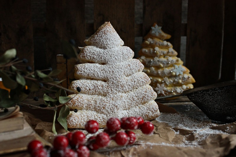 Slatka peciva - Božićna drvca
