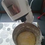 Flammkuchen sa sirom i špinatom