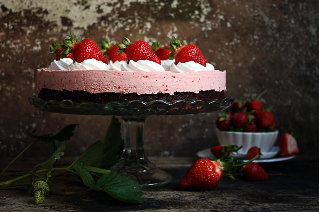 Torta od jagode i čokolade