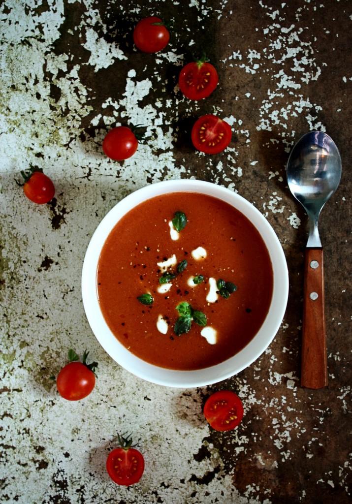 Juha od paradajza rajčice