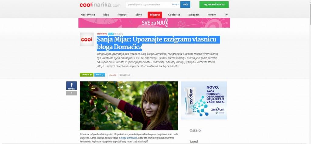 Coolinarika Sanja Mijac