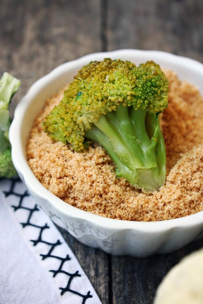 Karfiol i brokula u krušnim mrvicama