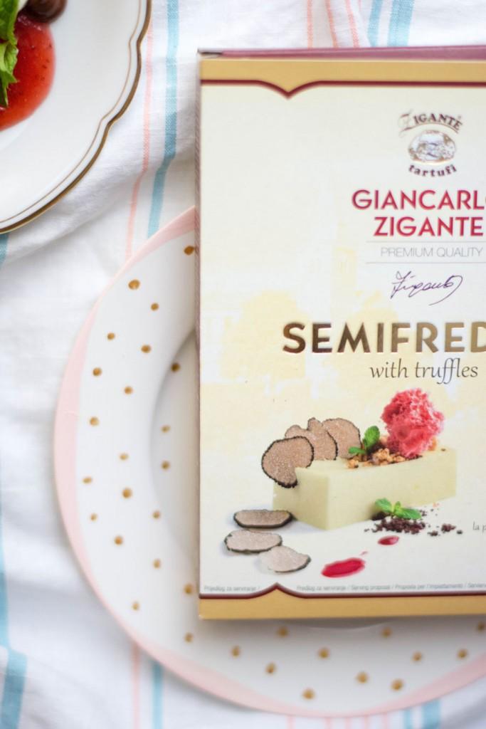 Semifreddo s tartufima