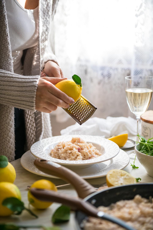 Rižoto s limunom