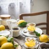 Cheesecake s lemon curdom