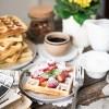 Hrskave waffle
