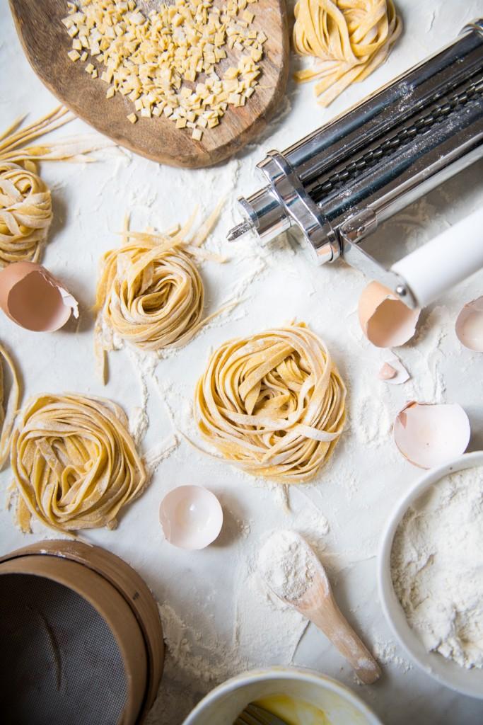 Domaća tjestenina tagliatelle