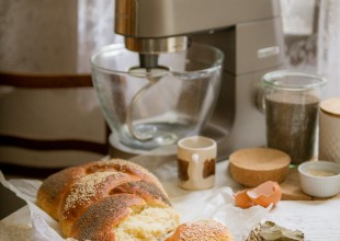 Kruh pletenica makovica