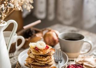 Zdrave palačinke od banane i pirovog brašna