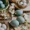 Prirodno bojanje jaja - ljubičasti kupus